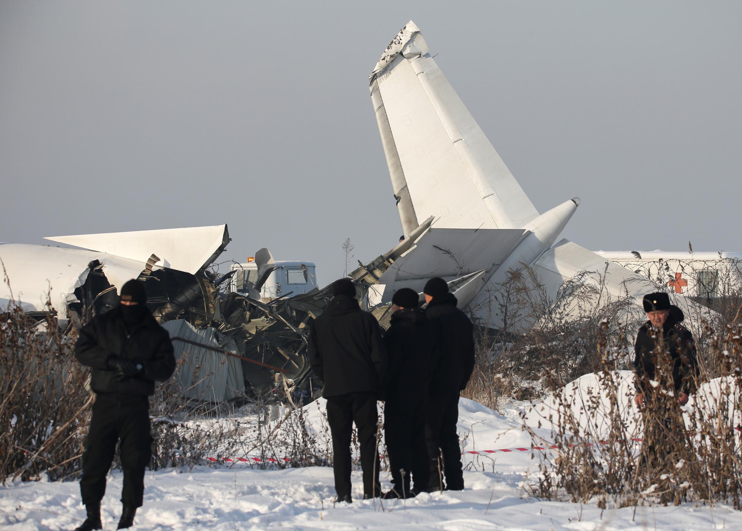 مقتل 9 ركاب إثر تحطم طائرة ركاب في كازاخستان عند الإقلاع - رويترز