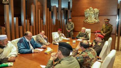 """Photo of """"أعيان الأمازيغ"""" يؤكدون وقوفهم مع الجيش الوطني"""