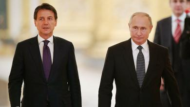 "Photo of بوتين وكونتي يؤكدان على حل أزمة ليبيا ""سلميا"""