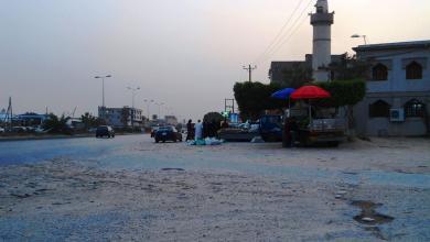 """Photo of قلاقل أمنية بـ""""الحرشة"""" قرب ميناء مصفاة الزاوية"""
