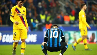 Photo of إنتر ميلانو يودع دوري أبطال أوروبا