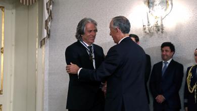 """Photo of رئيس البرتغال يمنح خيسوس """"وسام الدرجة الأولى"""""""