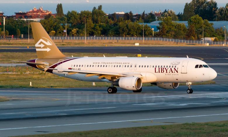 الخطوط الجوية الليبية- إرشيفية