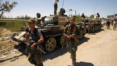 """Photo of """"حيلة الدبابات المعطلة"""" في الأبيار.. الجيش الوطني فعلها"""
