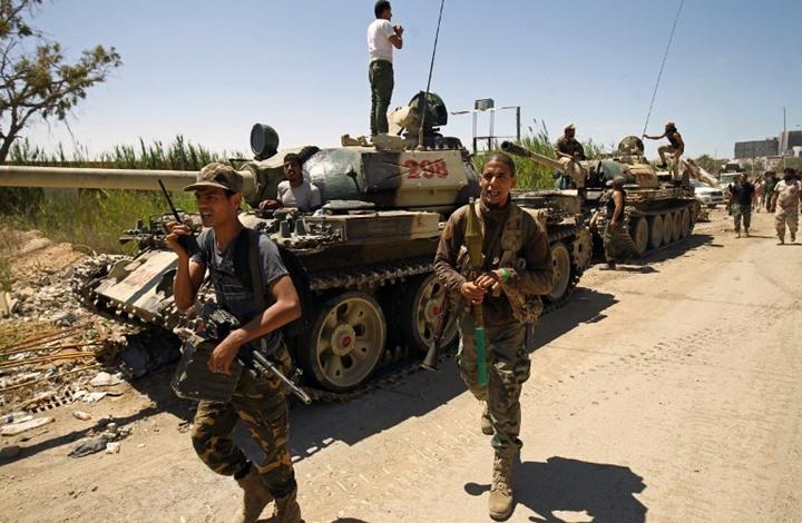 حيلة الدبابات المعطلة في معركة الكرامة ببنغازي