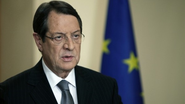 الرئيس القبرصي نيكوس أناستاسياديس