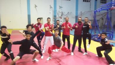 صورة منتخب الووشو يباشر تدريباته في طرابلس