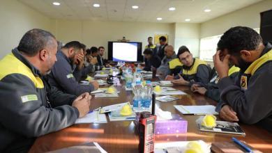 Photo of شركة مليتة: انتهاء أعمال الصيانة لمنظومة آبار الغاز بحقل بحر السلام