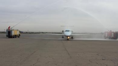 Photo of طائرة جديدة تصل معيتيقة لصالح شركة العالمية