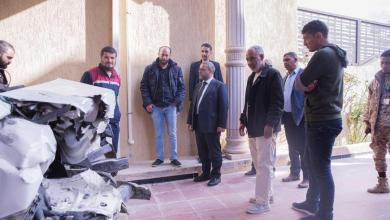 Photo of المشري يتفقد مواقع التفجيرات في مدينة الزاوية