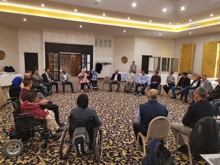 برنامج تدريبي تنظمه المفوضية العليا للانتخابات لإشراك الأشخاص ذوي الإعاقة