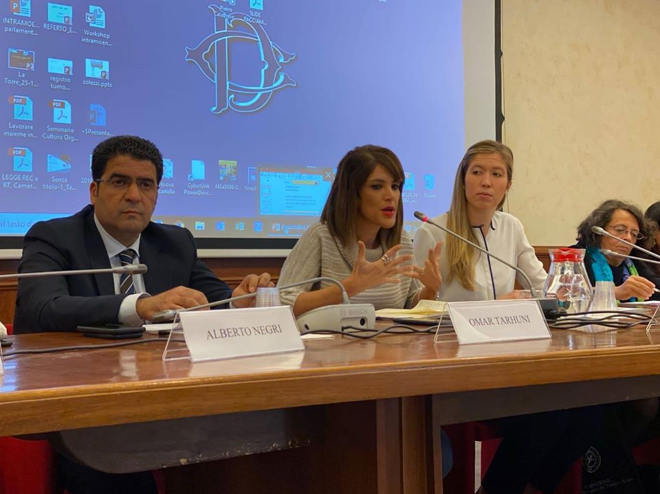 ندوة ليبية ايطالية في روما حول الأزمة الليبية