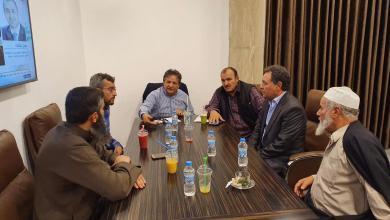 صورة عقوب يجتمع مع بلديات الجبل الغربي لبحث ملف الصحة