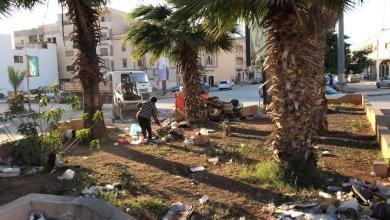 Photo of رغم العراقيل.. تواصل تنظيف حدائق درنة