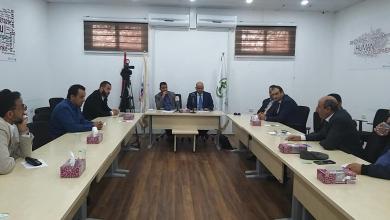 Photo of بلدية أبو سليم تعقد اجتماعا مع مدراء مصرف الوحدة