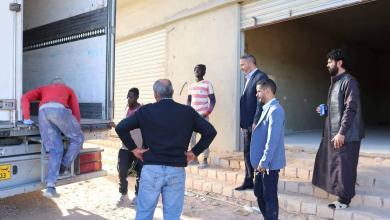 "Photo of ""بلدي الزنتان"" يستلم شحنة أدوية ومعدات طبية"