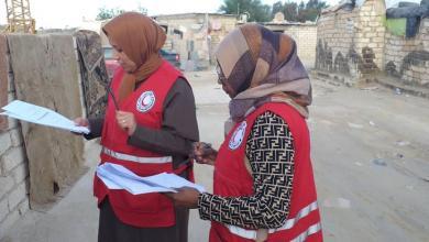 Photo of الهلال الأحمر أجدابيا يبدأ في ملء الاستبيانات الصحية والبيئية