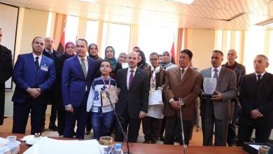 Photo of تعليم الوفاق تكرم الطلاب الفائزين في الأولمبياد العربي