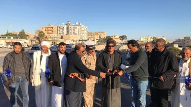 صورة بلدية طبرق تفتتح الطريق الفرعي أمام مبنى الخطوط الليبية