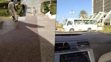 Photo of وفد من مصراتة يلتقي القيادة العامة