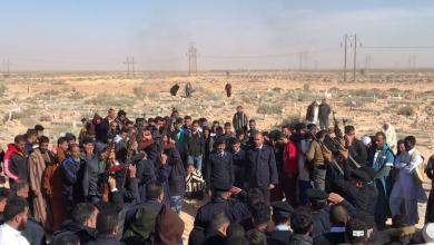 """Photo of أهل """"بدر"""" يشيعون أحد أبنائهم المشاركين بمعركة الجيش الوطني"""
