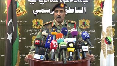 اللواء أحمد المسماري - الناطق الرسمي للجيش الوطني متحدثاً عن تشكيل لواء مشاة بجبل نفوسة