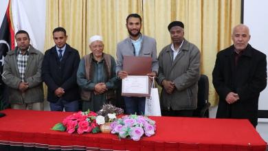 Photo of تكريم أبطال الكرة الحديدية في غدامس