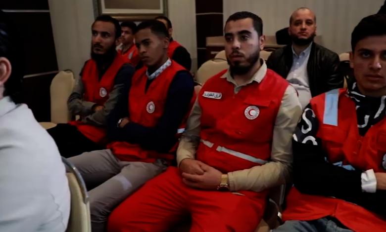 الهلال الأحمر طرابلس ينظم ندوة حوارية عن حماية الأطقم الطبية أثناء الحروب