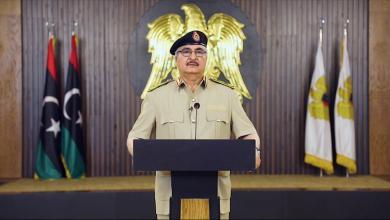 """Photo of المشير حفتر يعلن """"ساعة الصفر"""".. ويوجه باقتحام طرابلس"""