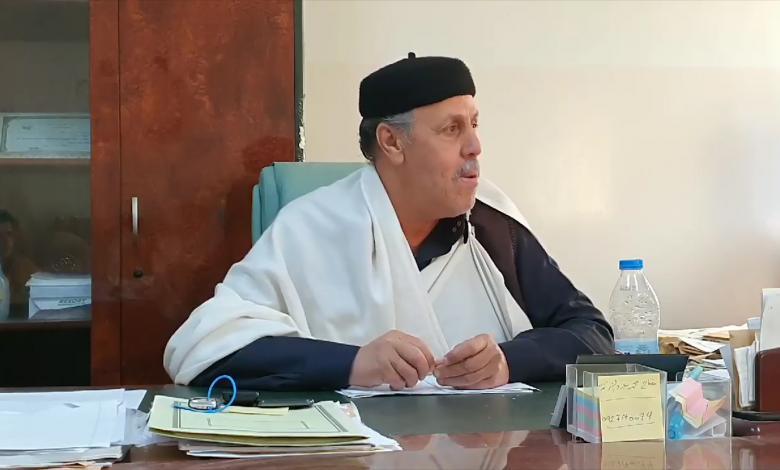 رئيس مجلس أعيان ومشايخ قبائل ترهونة صالح الفاندي
