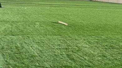 Photo of تركيب أجود أنواع العشب الصناعي بنادي المدينة