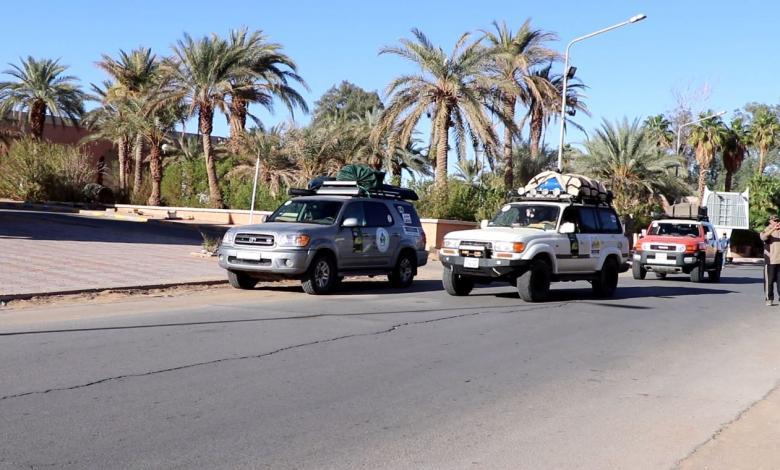 رحلة الطريق إلى داكار تصل غدامس