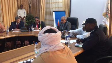 Photo of مشاورات عقد الجلسة الجامعة لمجلس النواب بـ غات