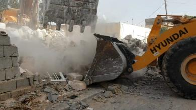 Photo of مواصلة أعمال إزالة العشوائيات في ترهونة