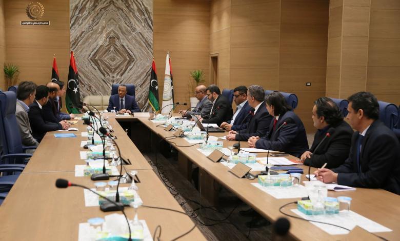 اجتماع الحكومة الليبية لاستكمال المشروعات ببلدية توكرة