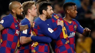 صورة برشلونة يطيح بليغانيس خارج كأس الملك