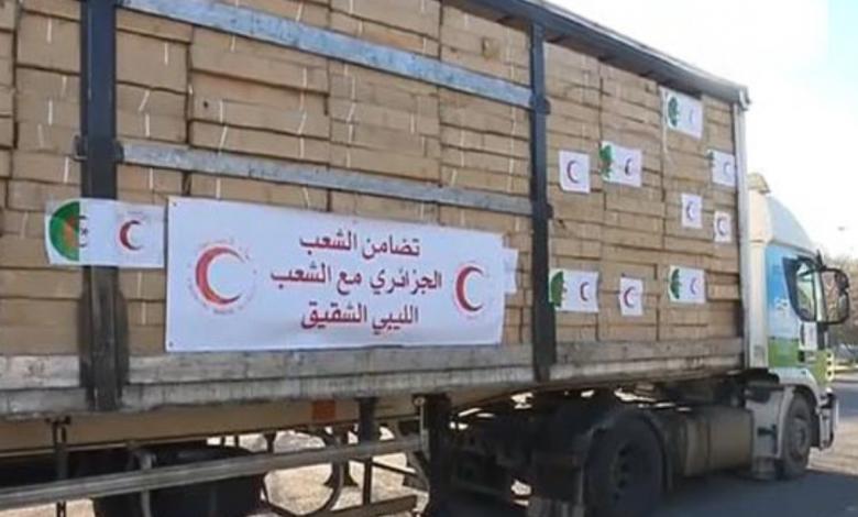 Photo of الهلال الأحمر الجزائري يُرسل 100 طن مساعدات إلى ليبيا