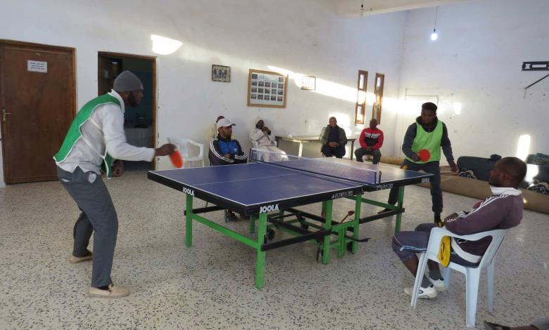 Photo of انطلاق بطولة تنس الطاولة في مرزق