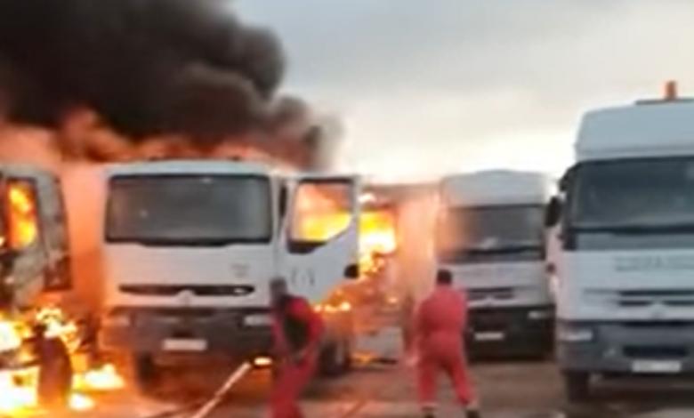 إصابة أحد عناصر شركة البريقة بعد قصف مستودع جنوب طرابلس