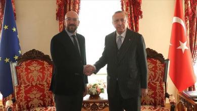 Photo of رئيس المجلس الأوروبي وأردوغان يناقشان الوضع بليبيا