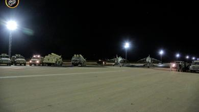 Photo of وصول تعزيزات عسكرية إلى قاعدة الوطية الجوية