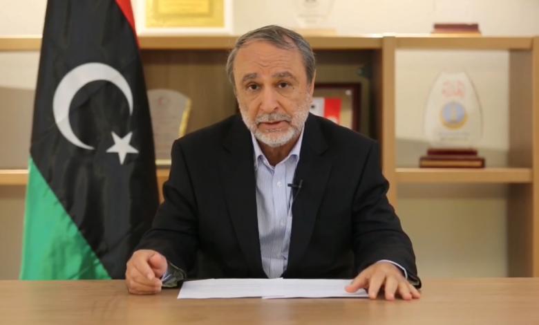 رئيس المجلس الأعلى للدولة السابق عبدالرحمن السويحلي
