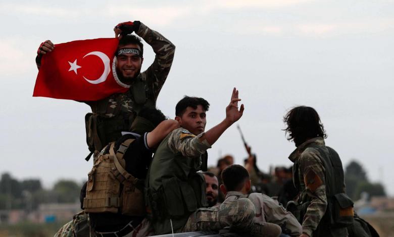 فصيل سوري موالي لتركيا