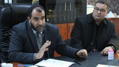 Photo of الحاسي يبحث عمل لجان التقييم والمتابعة الرقابية