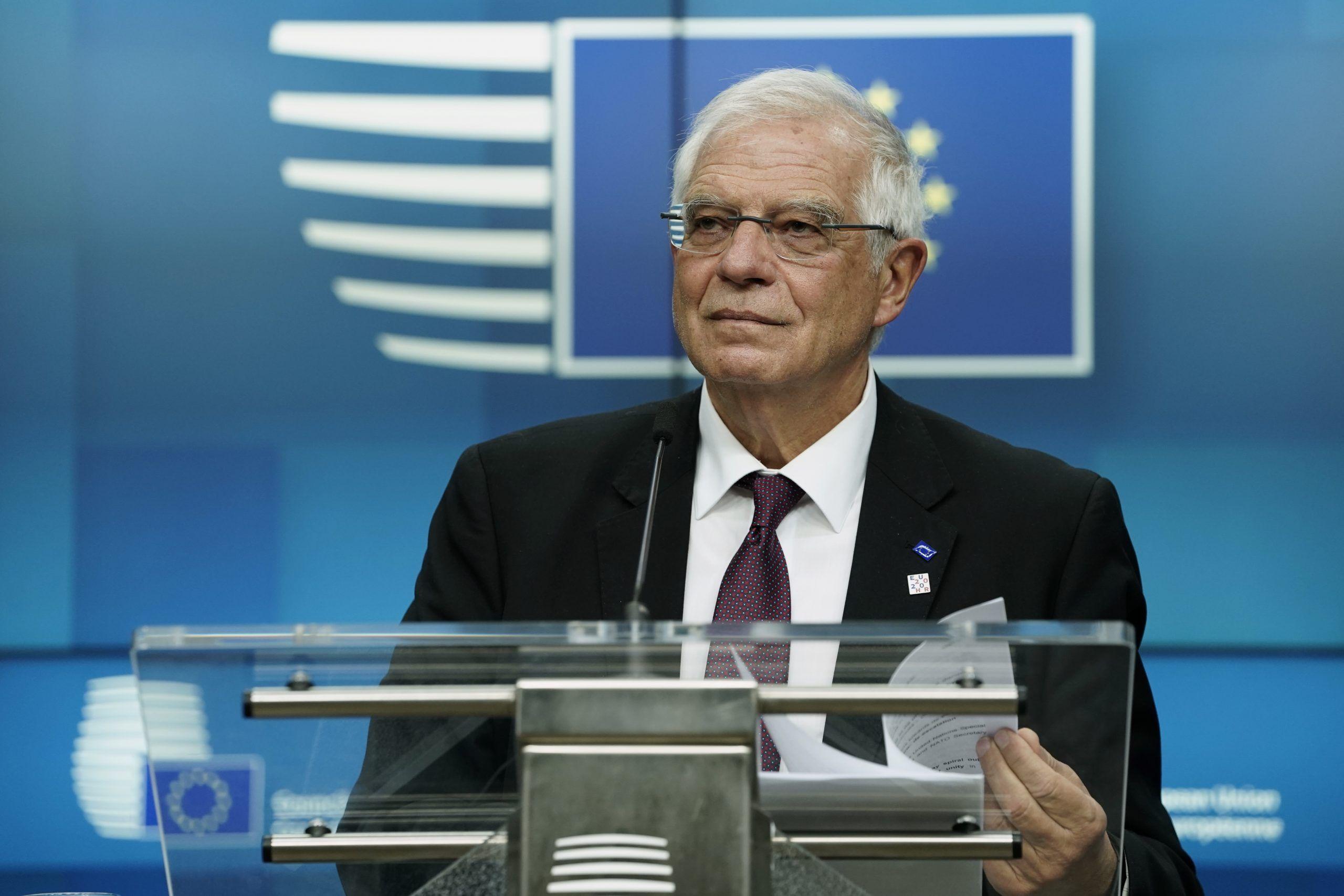 وزير الخارجية الأوروبي جوزيب بوريل