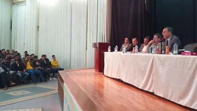 "Photo of طرابلس..""تعليم الوفاق"" تحاور طلاب الشهادة الثانوية"