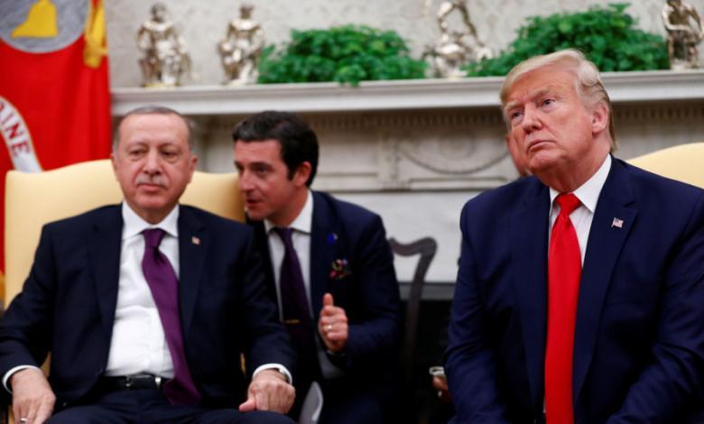 مكالمة هاتفية للرئيس الأميركي دونالد ترامب حول الأزمة الليبية مع رئيس تركيا