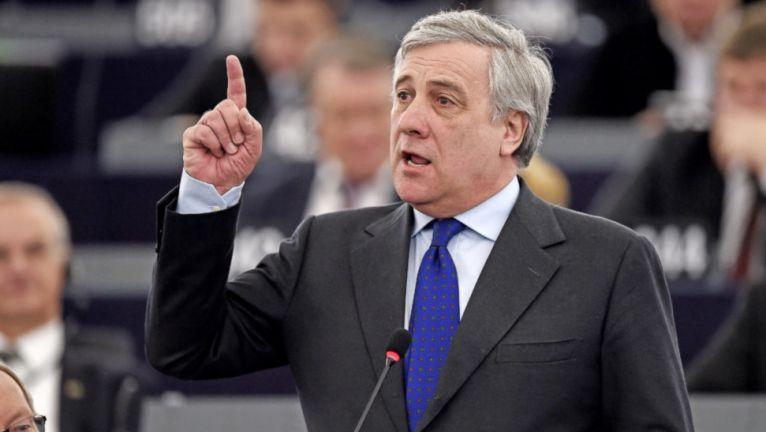 """أنطونيو تاياني - رئيس البرلمان الأوروبي السابق -""""أرشيفية"""""""