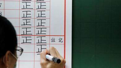 """صورة نتائج الانتخابات الرئاسية في تايوان """"تصدم الصين"""""""