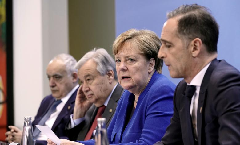 """Photo of """"مؤتمر برلين"""".. الجميع وضع يده على الجرح"""